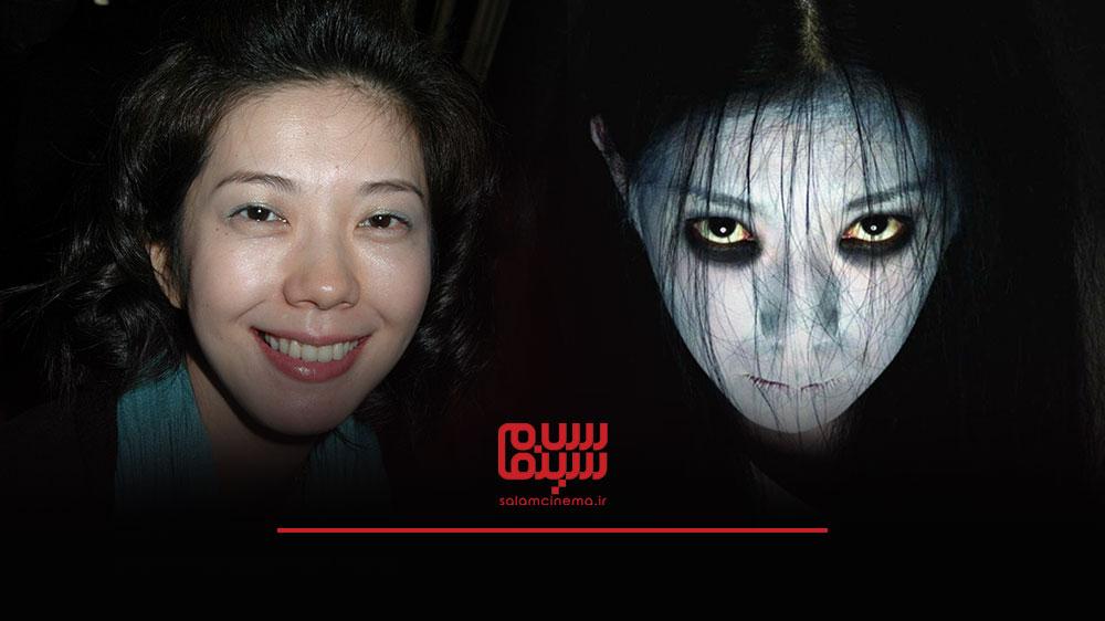 گریم های عجیب بازیگران در فیلم های ترسناک و چهره واقعی آن ها - تاکاکو فوجی (Takako Fuji)