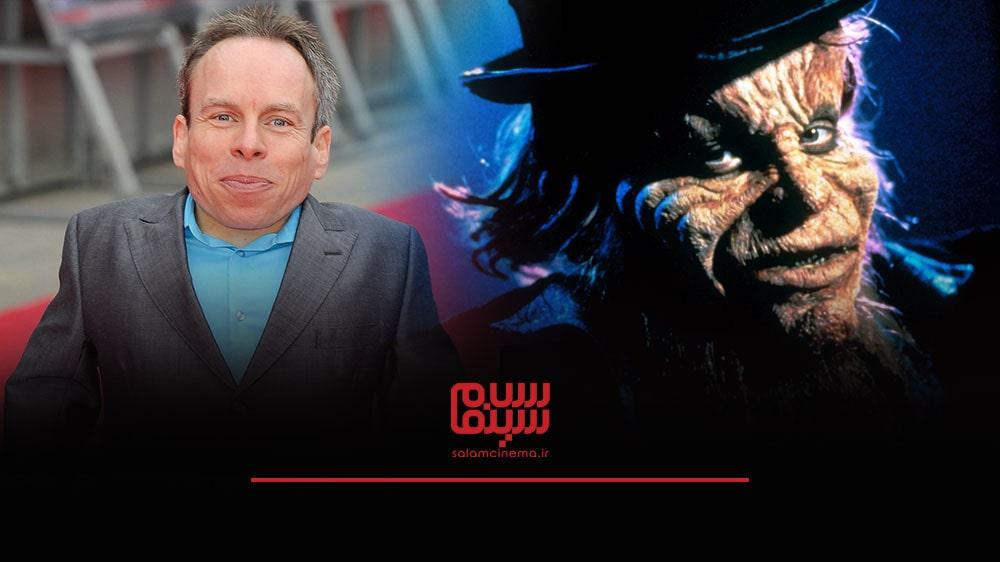 گریم های عجیب بازیگران در فیلم های ترسناک و چهره واقعی آن ها - وارویک دیویس (Warwick Davis)