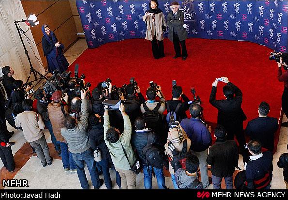 عکس نشست خبری فیلم خواب زده ها سی و دومین جشنواره فیلم فجر