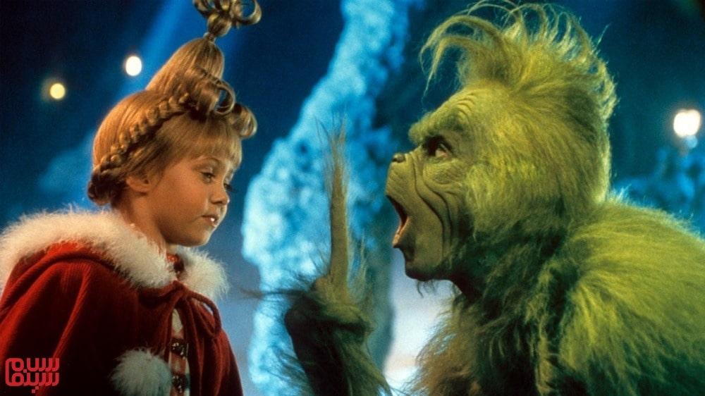 چگونه گرینچ کریسمس را دزدید-How the Grinch Stole Christmas-بهترین فیلم های جیم کری
