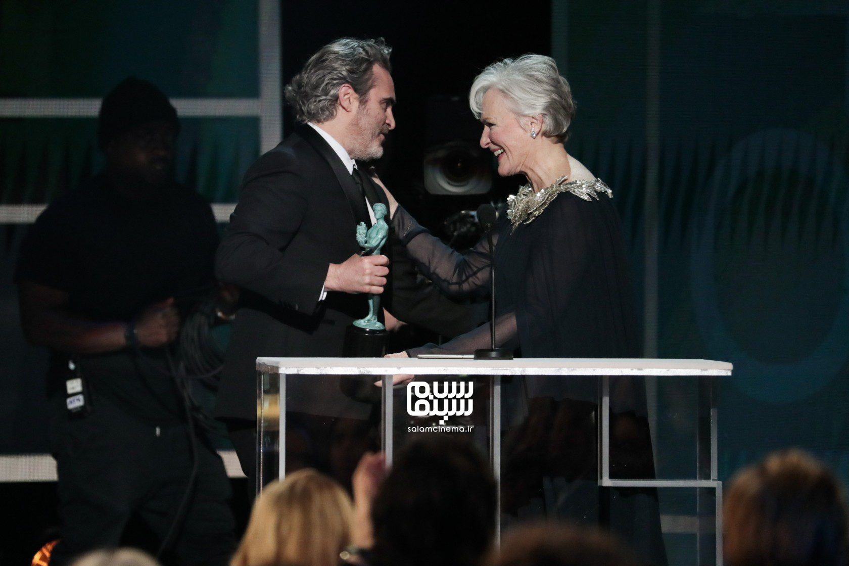 واکین فینیکس و هلن میلن - انجمن بازیگران آمریکا(SAG Awards 2020)