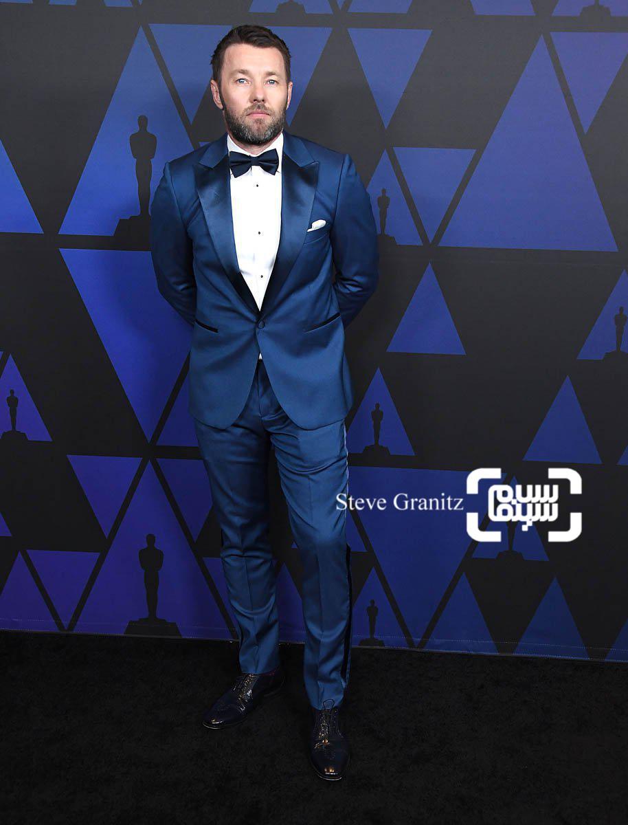 جوئل ادگورتون بازیگر و کارگردان فیلم «پسر حذف شده»(Boy Erased) در جوایز گاونر 2018