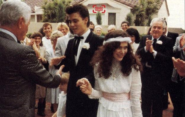 عروسی لوری آن آلیسون و جانی دپ