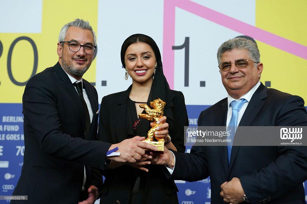 باران رسول اف - تهیه کننده های فیلم - اختتامیه جشنواره فیلم برلین 2020- شیطان وجود ندارد
