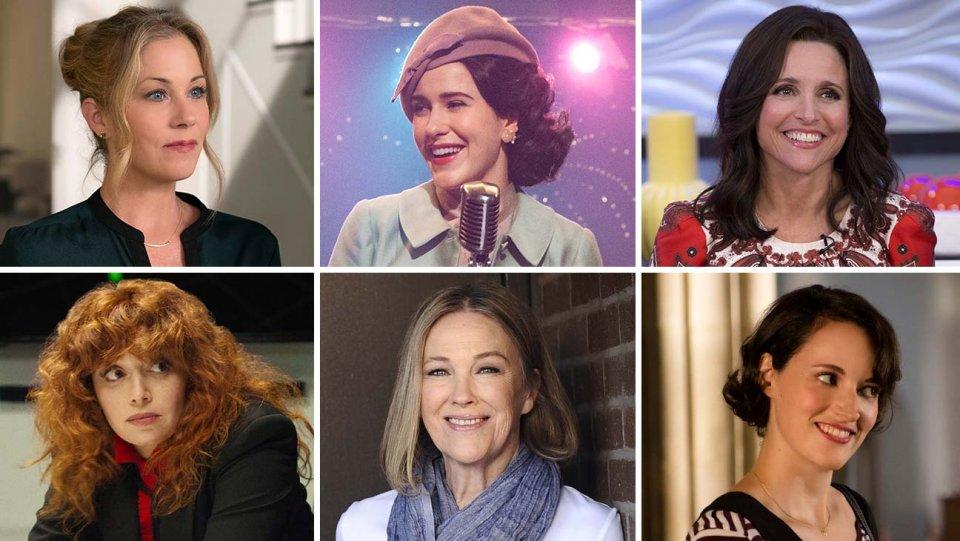 بهترین بازیگر زن کمدی در امی 2019