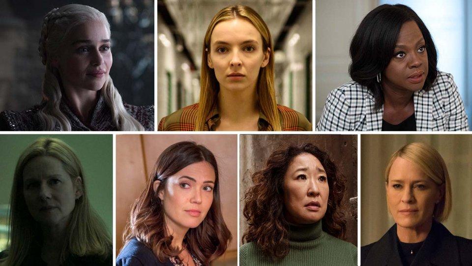 نامزدهای بهترین بزیگر نقش اول زن در امی 2019