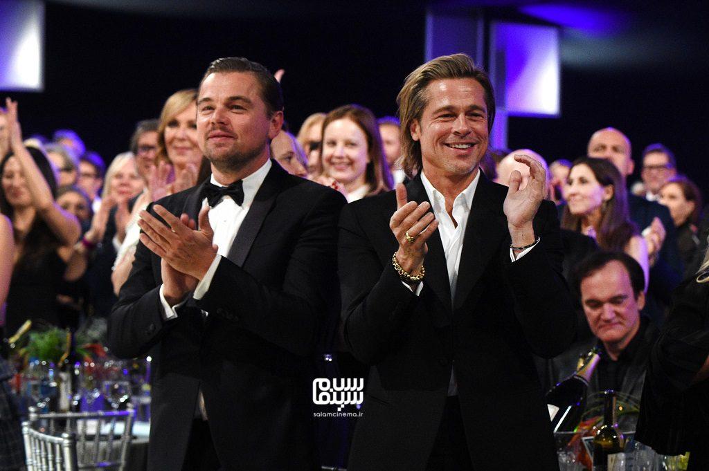 لئوناردو دی کاپریو و برد پیت - انجمن بازیگران آمریکا(SAG Awards 2020)