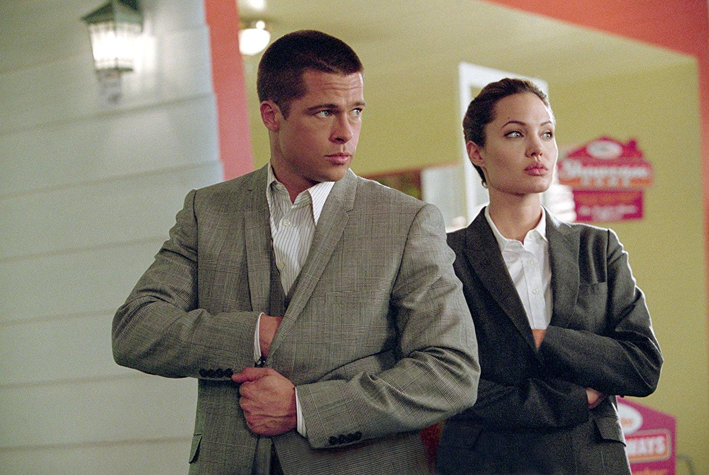 نمایی از فیلم خانم و آقای اسمیت