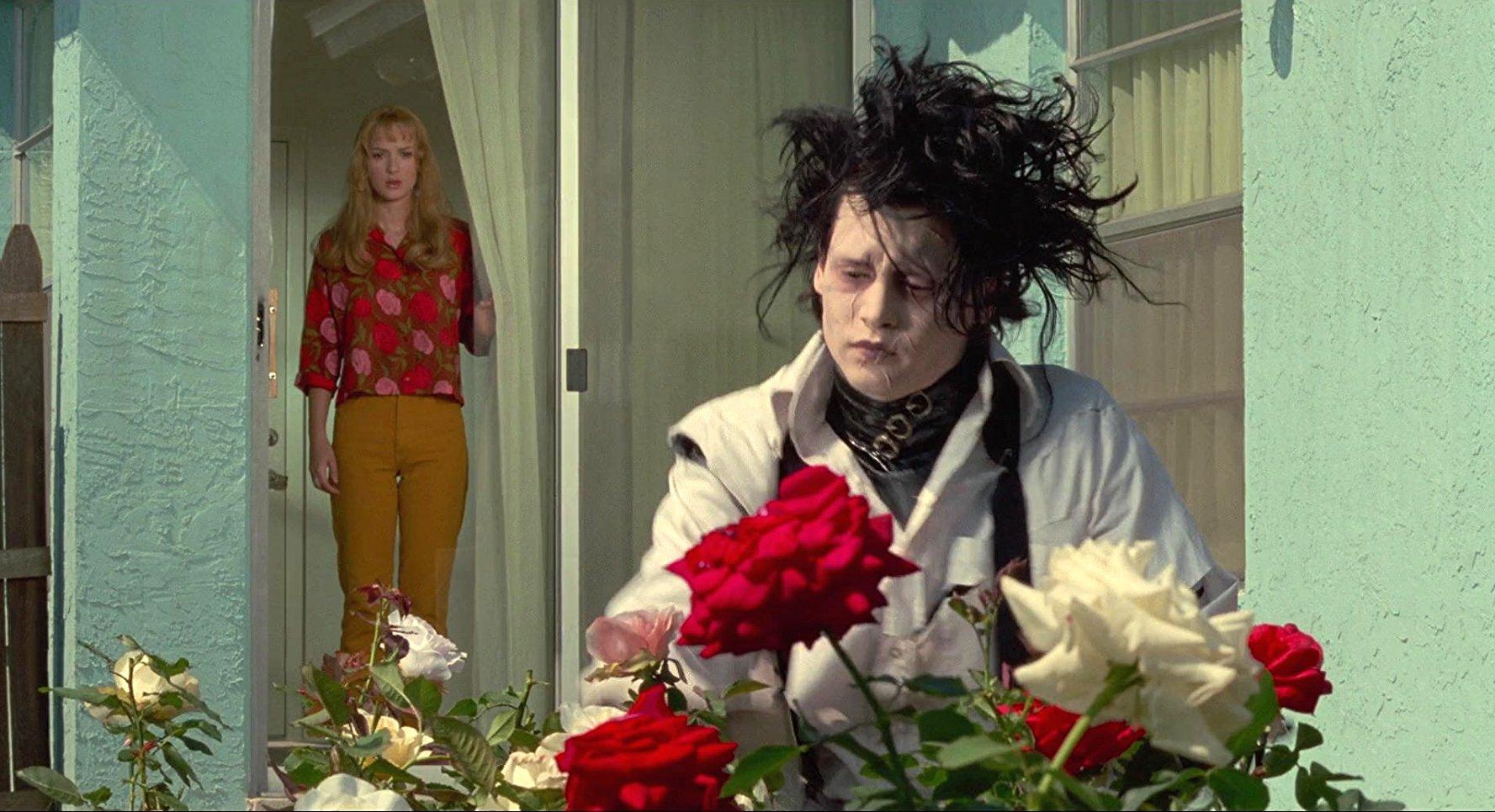 جانی دپ در فیلم ادوارد دست قیچی