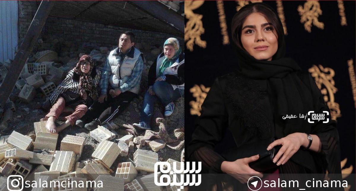انتقاد آزاده زارعی از تخریب منزل خانواده ارومیهای