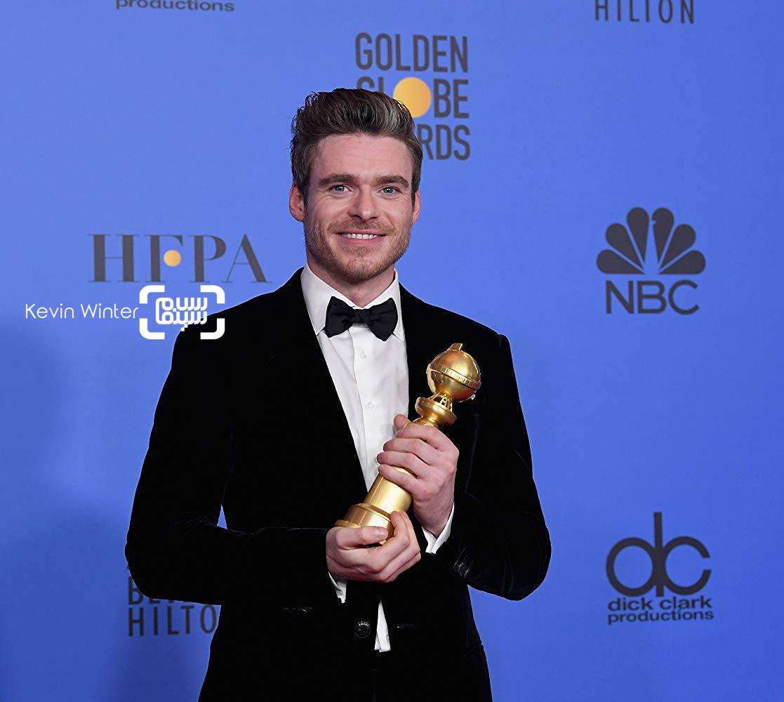 ریچارد مدن  گزارش تصویری از جوایز گلدن گلوب 2019