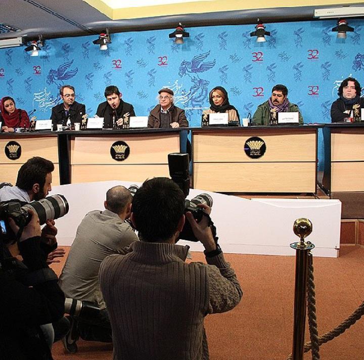 نشست خبری فیلم خواب زده ها سی و دومین جشنواره فیلم فجر
