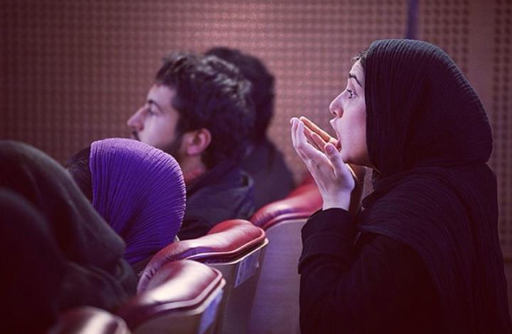 عکس باران کوثری سی و دومین جشنواره فیلم فجر