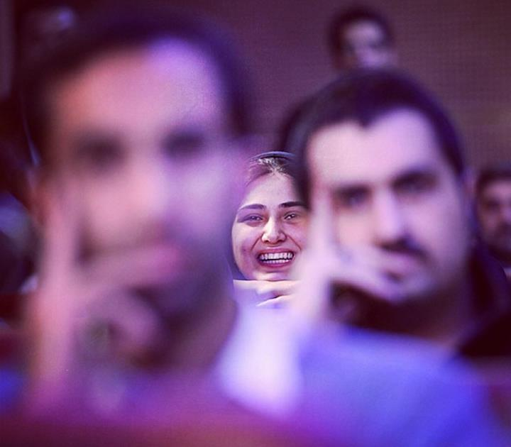 عکس باران کوثری در سی و دومین جشنواره فیلم فجر