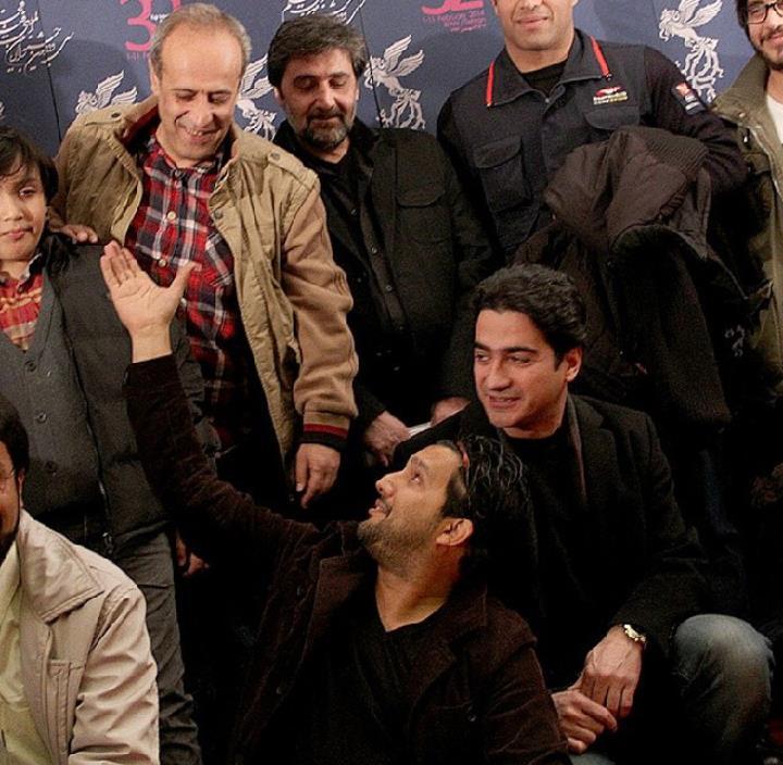 نشست خبری فیلم پارایش غلیظ حمید نعمت الله حامد بهداد همایون شجریان سی و دومین جشنواره فیلم فجر