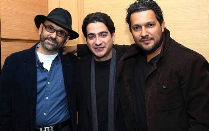 حامد بهداد همایون شجریان حبیب رضایی سی و دومین جشنواره فیلم فجر