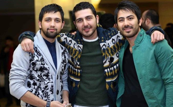 محسن افشانی و مهران غفوریان سی و دومین جشنواره فیلم فجر