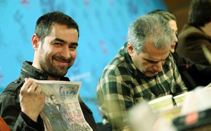 شهاب حسینی نشست خبری فیلم خانه پدری سی و دومین جشنواره فیلم فجر