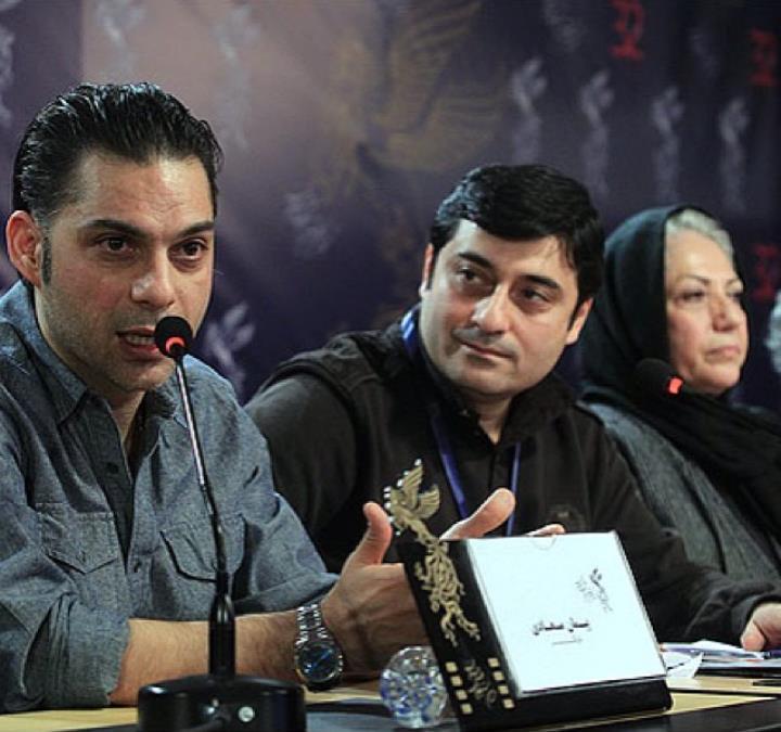 عکس پیمان معادی نشست خبری فیلم قصه ها جشنواره فیلم فجر