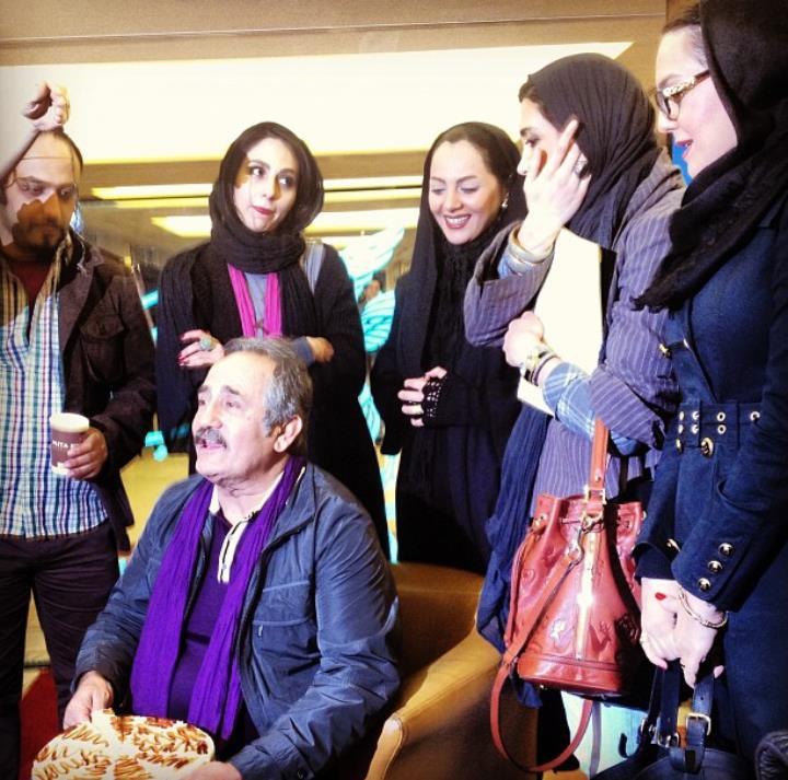 عکس تولد مجید مظفری سی و دومین جشنواره فیلم فجر