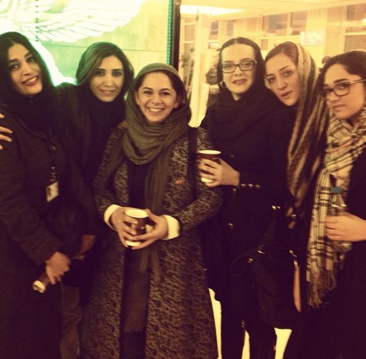 عکس بازیگران سی و دومین جشنواره فیلم فجر