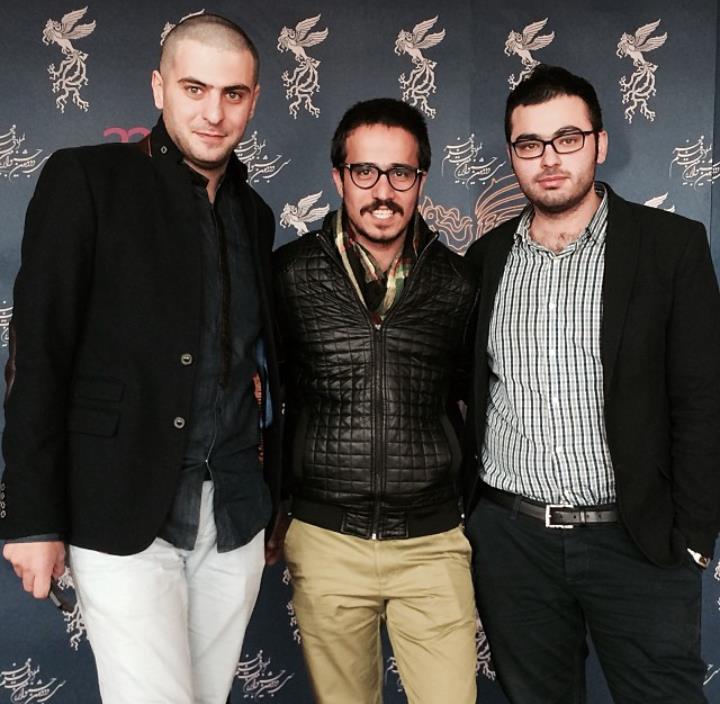 عکس علی ضیا و حسین سلیمانی در جشنواره فیلم فجر