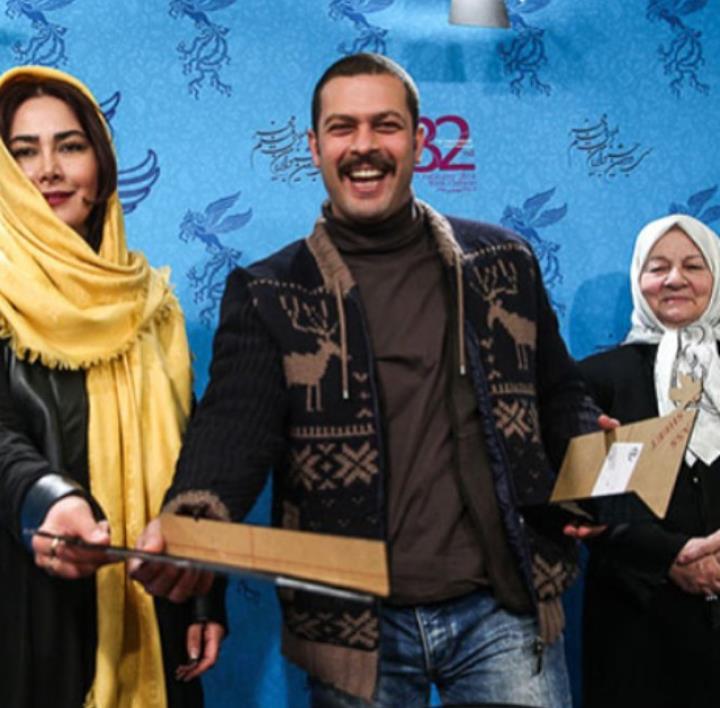 عکس پژمان بازغی و آنا نعمتی در جشنواره فیلم فجر