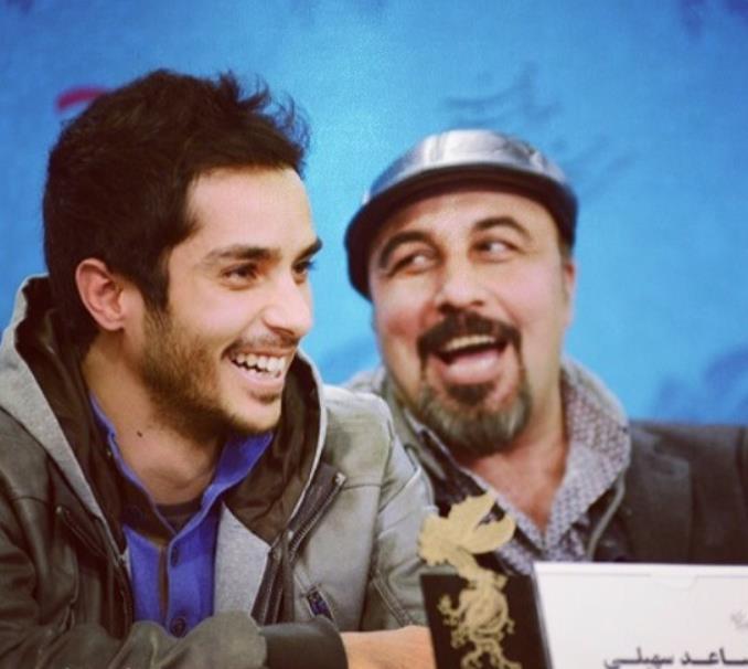 عکس رضا عطاران و سعید سهیلی جشنواره فیلم فجر