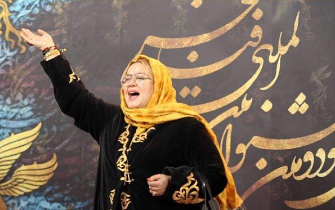 بهاره رهنما در اختتامیه سی و دومین جشنواره فیلم فجر