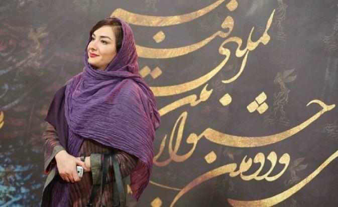 هانیه توسلی در اختتامیه جشنواره فیلم فجر