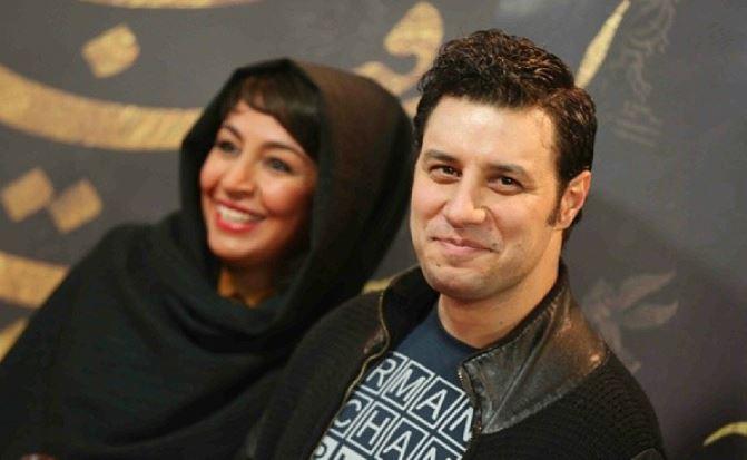 جواد عزتی و همسرش در اختتامیه سی و دومین جشنواره فیلم فجر