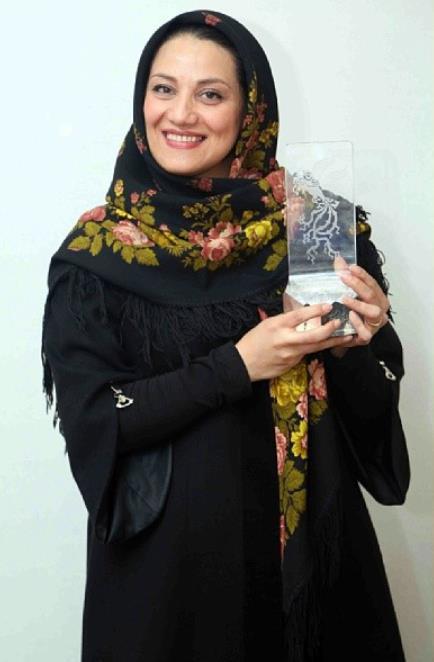 شبنم مقدمی اختتامیه سی و دومین جشنواره فیلم فجر