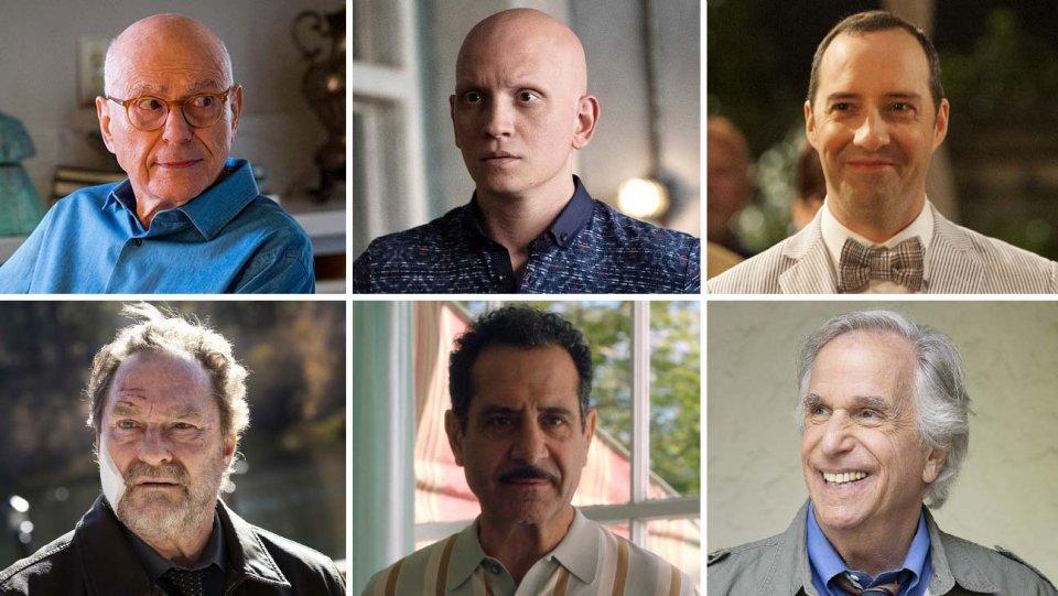 بهترین بازیگر نقش مکمل مرد در سریال کمدی در امی 2019