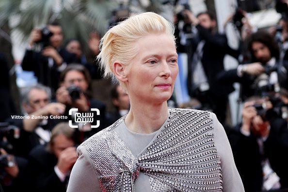 عکس تیلدا سوئینتن در افتتاحیه جشنواره فیلم کن 2019