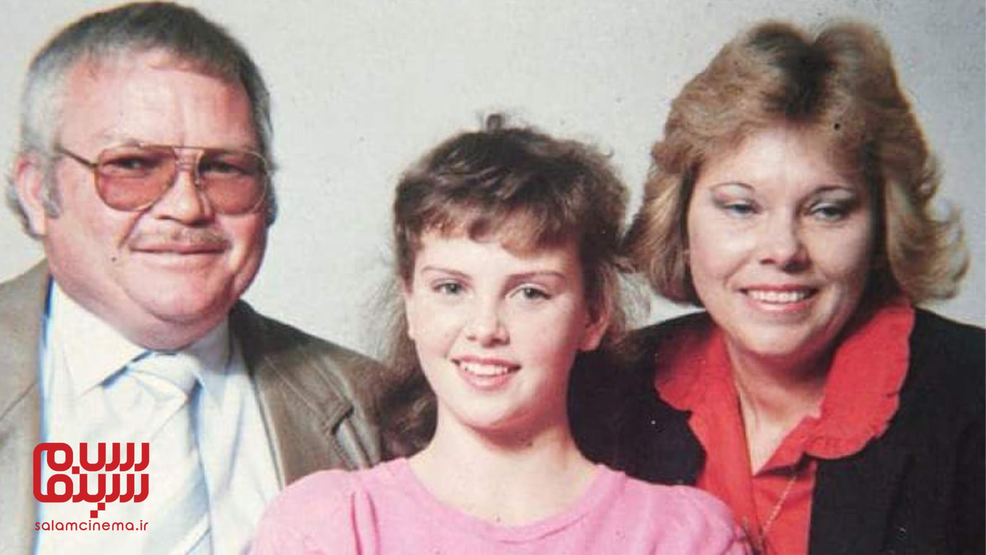 شارلیز ترون در کودکی