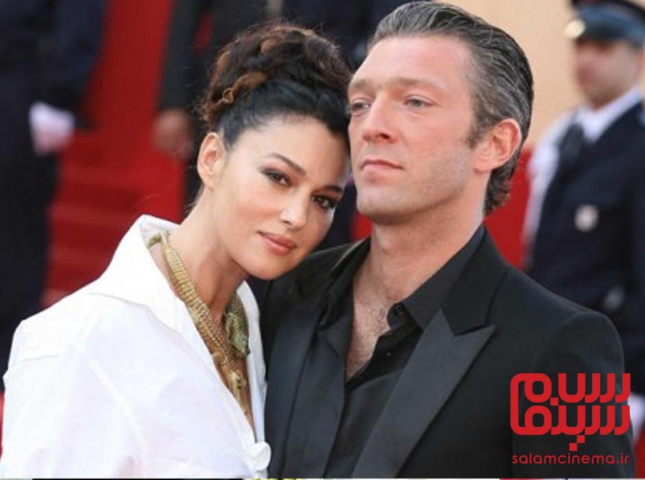 مونیکا بلوچی و همسرش