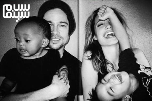 جولی و پیت و فرزندخوانده هایشان