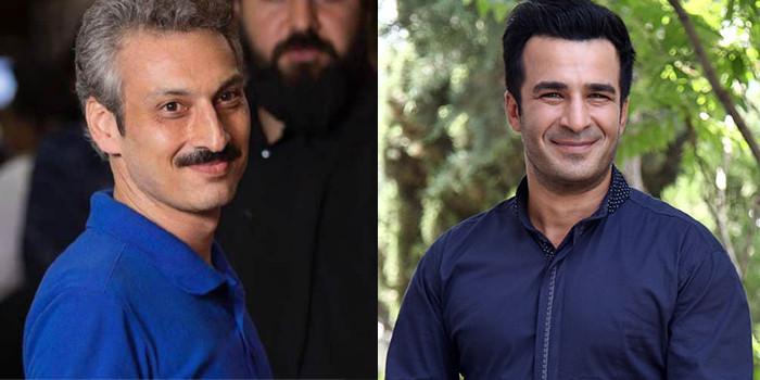 ارژنگ امیرفضلی و یوسف تیموری در فیلم «خرها آدم نمی شوند»