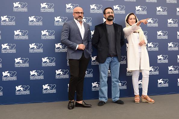 Niki karimi amir aghaee vahid jalilvandعکس های مراسم فتوکال فیلم «چهارشنبه 19 اردیبهشت» هفتاد و دومین جشنواره فیلم ونیز