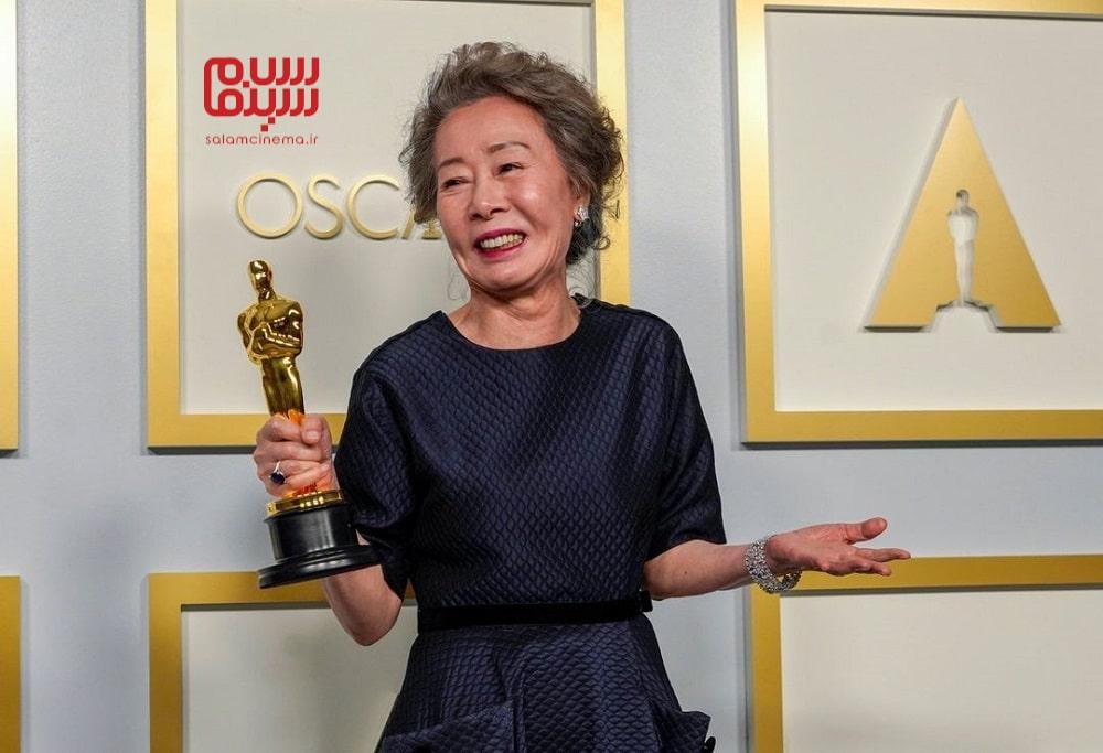 یون یو جونگ بازیگر فیلم میناری در اسکار 2021