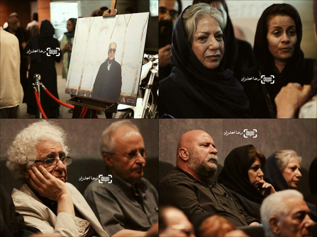 گزارش تصویری دومین مراسم یادبود عباس کیارستمی