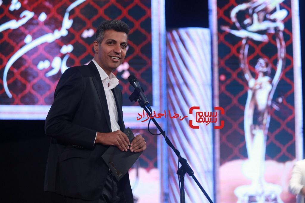 عادل فردوسی پور / بیست و یکمین جشن خانه سینما/ گزارش تصویری 2