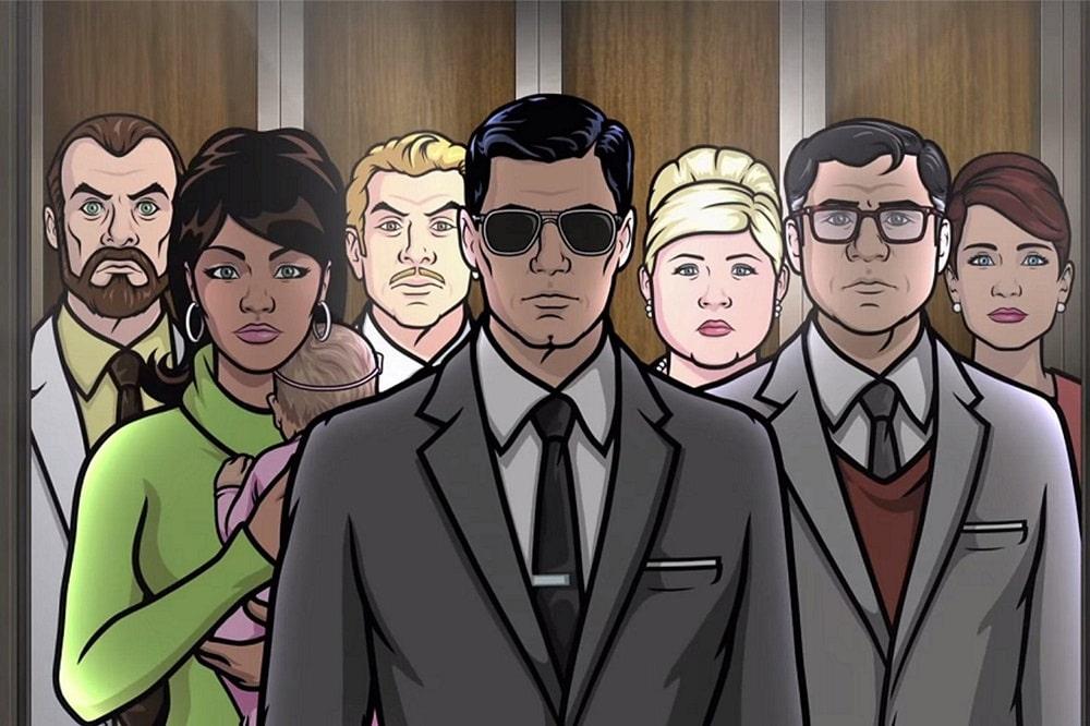 بهترین انیمیشنهای سریالی برای بزرگسالان-آرچر