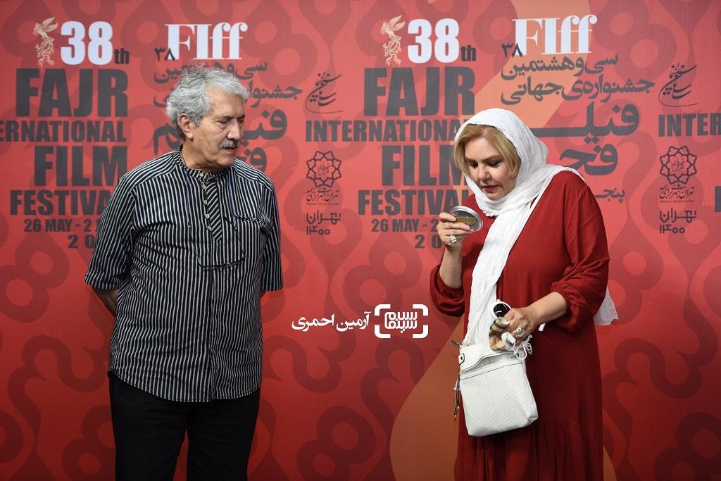 سی و هشتمین جشنواره جهانی فیلم فجر - شاهرخ فروتنیان - افسانه چهره آزاد