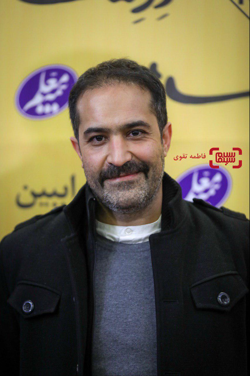افشین هاشمی در اکران خصوصی فیلم «درساژ»