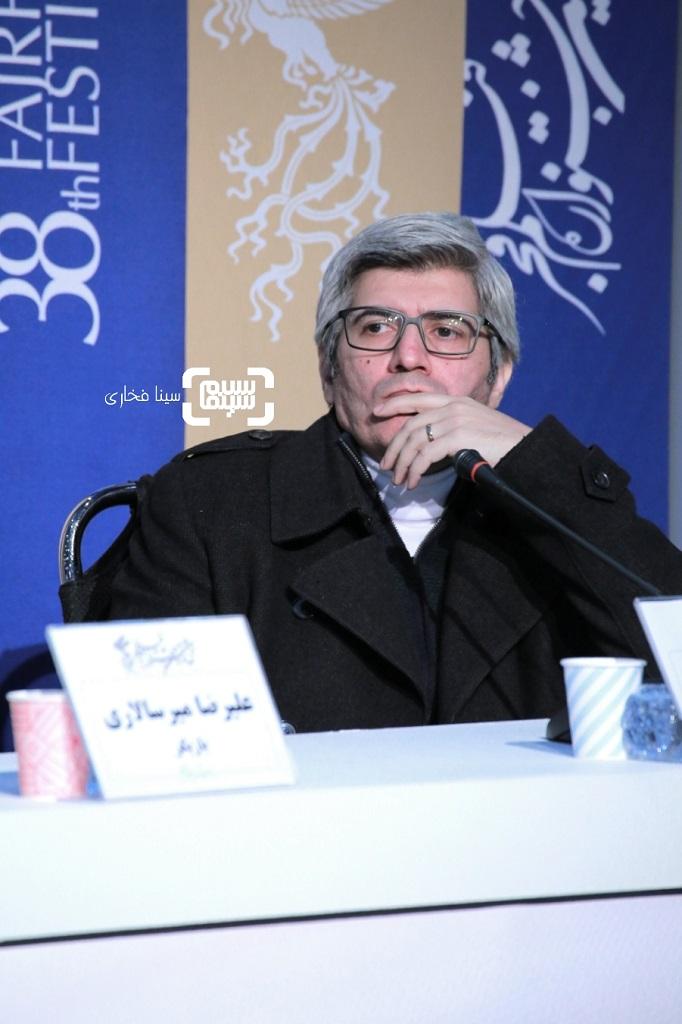 احمد ساعتچیان - گزارش تصویری - نشست خبری فیلم «مغز استخوان» - جشنواره فجر 38