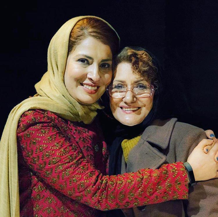 آیدا کیخایی و مادرش