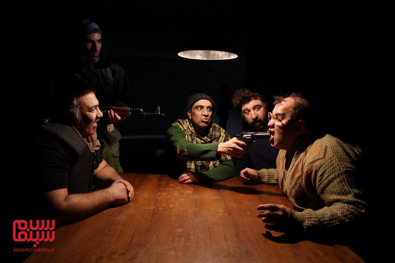 اولین تصاویر از فیلم «اژدر» ساخته رضا سبحانی
