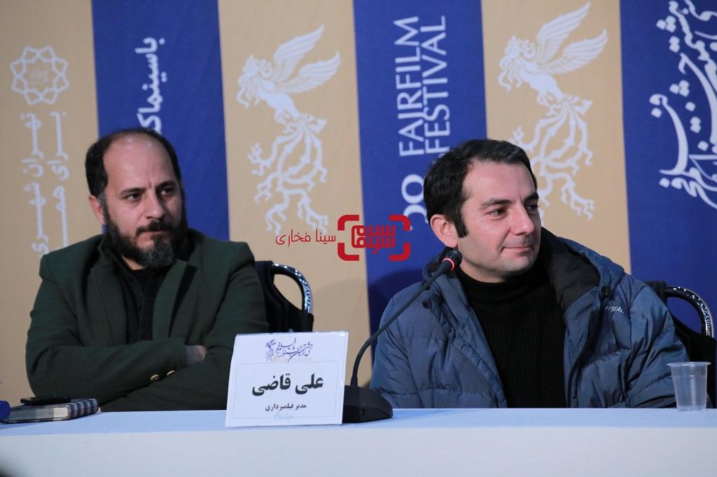 نشست خبری فیلم «روز صفر» در جشنواره فجر 38