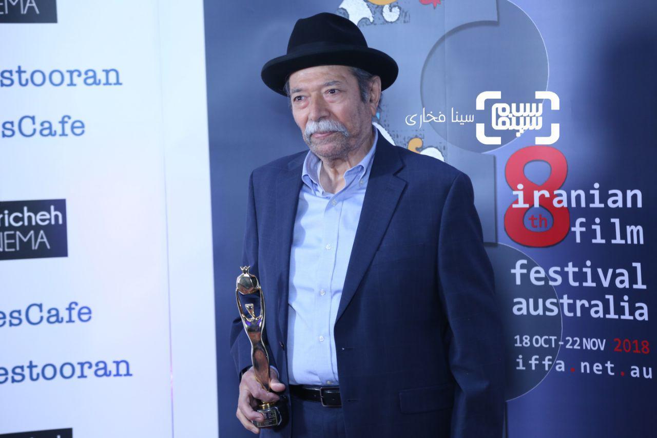 عکس علی نصیریاندر هشتمین جشنواره فیلمهای ایرانی استرالیا
